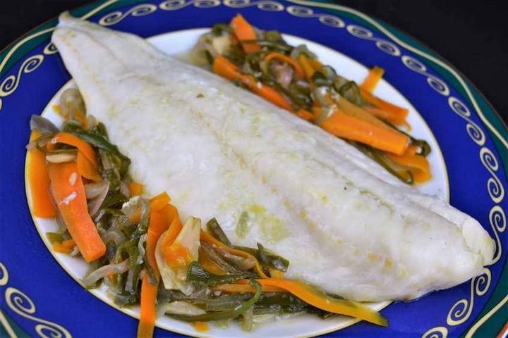 Bacalao en papillote con aroma de verduras. Programa nº 132
