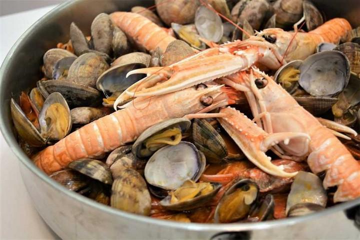 Caldereta de pescado y mariscos. Programa nº 58