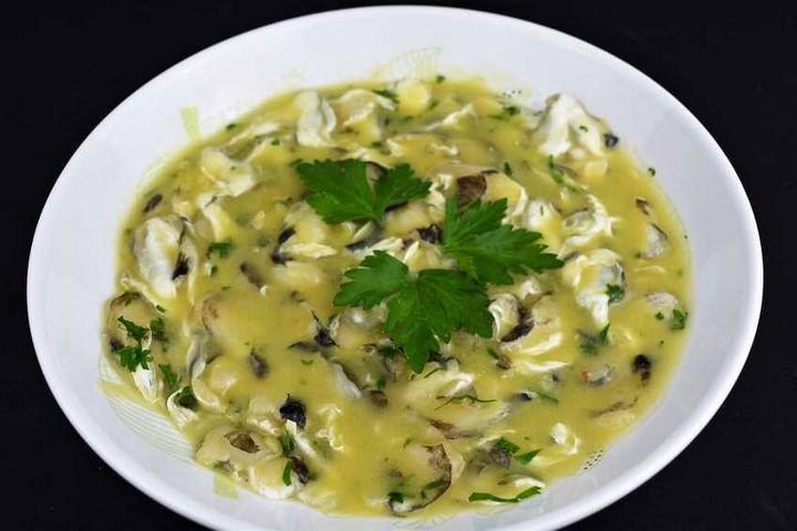 Cocochas de merluza en salsa verde. Programa nº 103