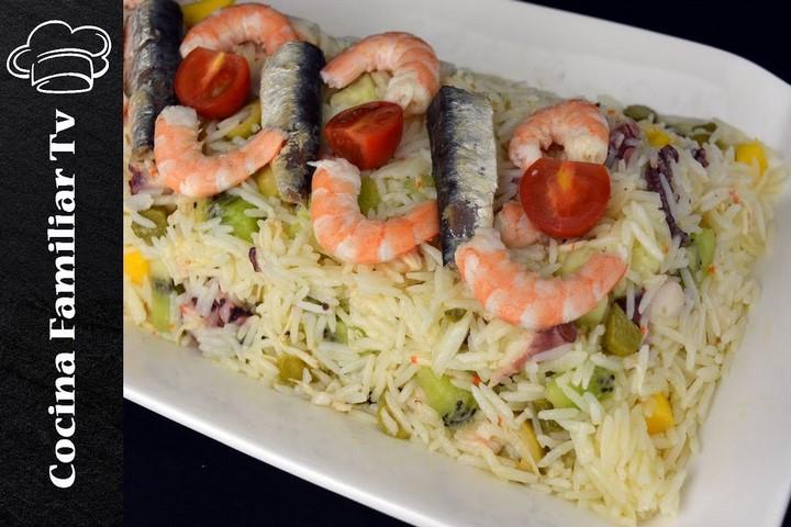 Ensalada de arroz y magdalenas de café / Cocina familiar con Javier Romero