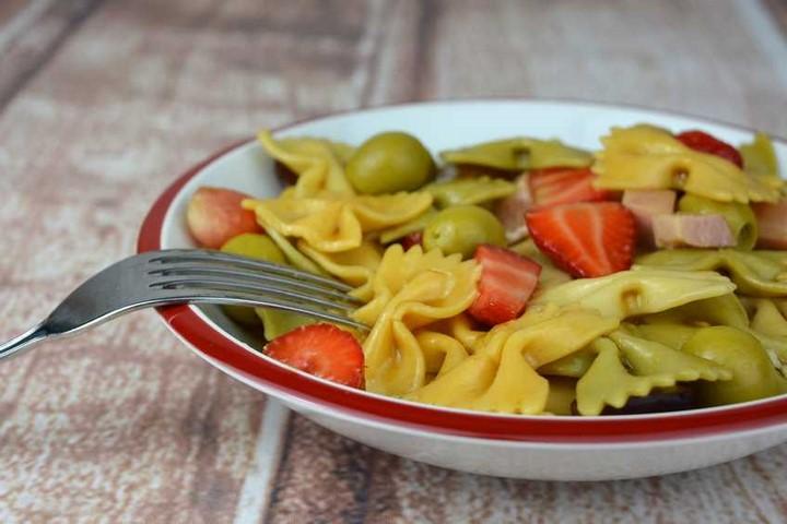 Ensalada de pasta y fruta | Javier Romero Cap. 122 - Temporada 2