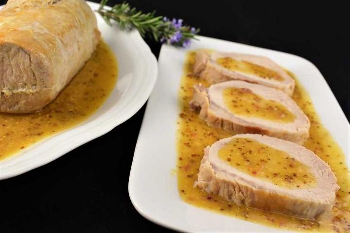 Lomo de cerdo asado con salsa agridulce. Programa nº 30
