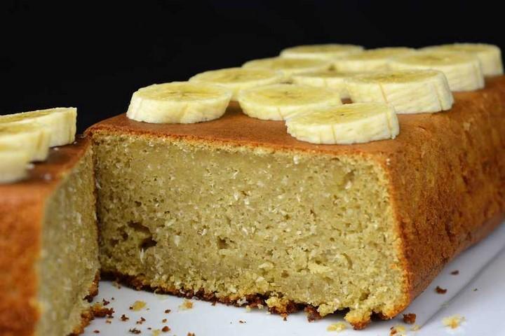 Pastel de plátano y coco. Programa nº 82