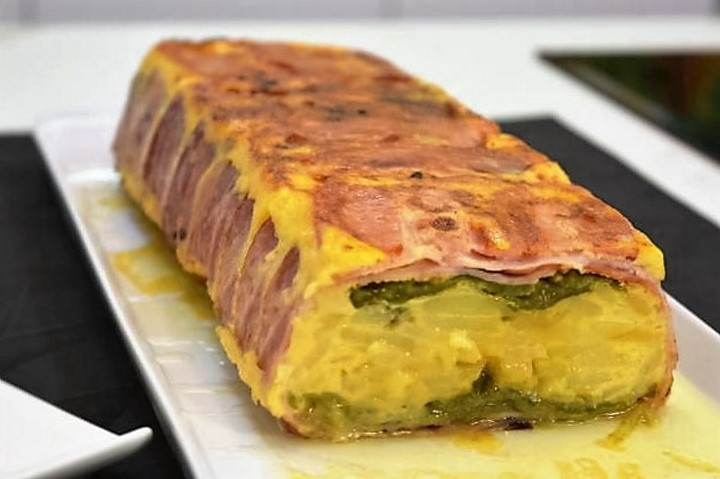 Pastel de tortilla de patata y pimientos  | Javier Romero Cap. 18 - Temporada 2