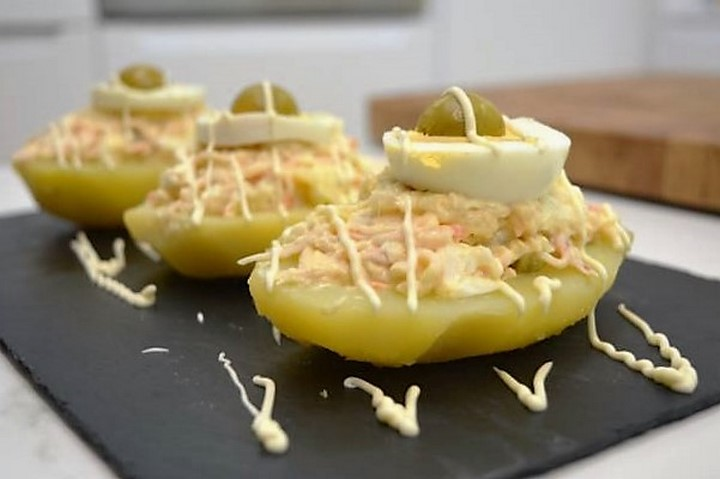 Patatas rellenas de ensaladilla rusa | Javier Romero Cap. 35 - Temporada 2