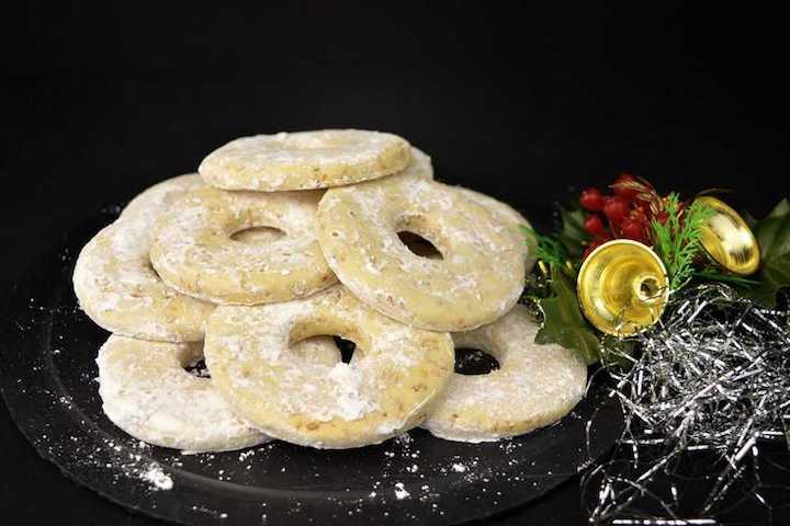 Roscos de limón para Navidad | Javier Romero