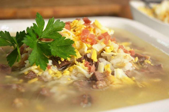 Sopa de arroz con picadillo   | Javier Romero Cap. 60 - Temporada 2