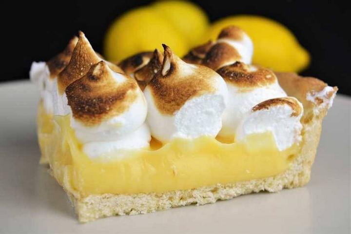 Tarta de limón con merengue, lemon pie. Programa nº 151