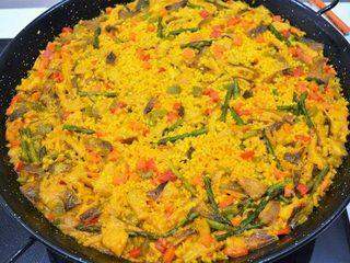 Arroz vegetariano, recetas para dieta. Programa nº 117