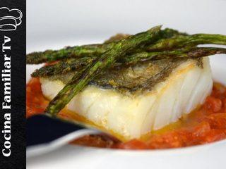 Bacalao con tomate y magdalenas de mascarpone l Cocina familiar TV