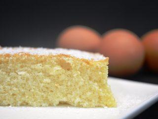 Bizcocho de nata y limón