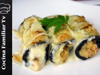 Canelones de berenjena y gazpacho andaluz l Cocina familiar TV
