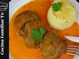Carrilleras con salsa picante y puré de patata l Cocina familiar TV