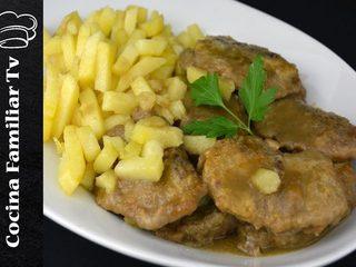 Carrilleras de cerdo con salsa de cebolla y tarta tres leches l Cocina familiar TV