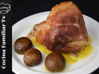Codillo de cerdo con salsa Strogonoff l Programa en TV de Javier Romero
