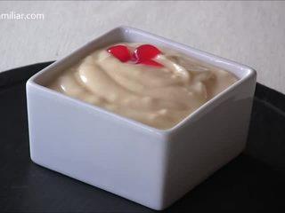 Cómo hacer crema pastelera