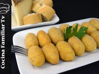 Croquetas de queso y palmeras de chocolate / Cocina familiar con Javier Romero
