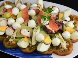 Ensalada de verano, fresca y nutritiva. Programa nº 95