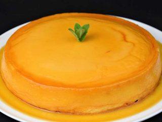 Flan de queso y leche condensada. Programa nº 23.