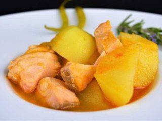 Marmitako de salmón y romero. Programa nº 158