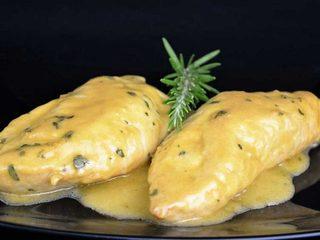 Pechugas con salsa de miel y mostaza | Javier Romero