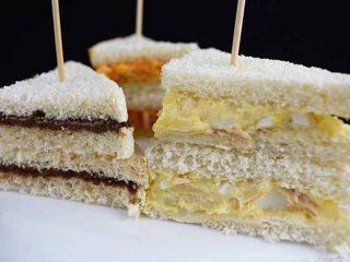 Sándwiches variados para una fiesta de niños. Programa nº 108