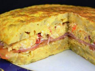 Tortilla de patata rellena con ensaladilla | Javier Romero Cap. 99 - Temporada 2