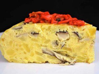 Tortilla de patata y setas. Programa nº 127