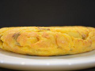 Tortilla de setas picantonas