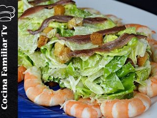 Ensalada César y flamenquines de pollo l Cocina familiar TV